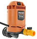 Ridgid VP2000 Genuine OEM 5/8 Inch Quick Connect Pump Accessory for Wet / Dry Vacuums