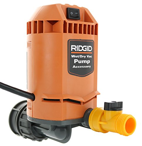 Ridgid VP2000 Genuine OEM 5/8 Inch Quick Connect Pump Accessory for Wet / Dry Vacuums from Ridgid