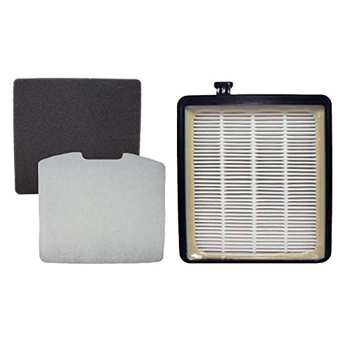 Top Vacuum Parts TVP F45 HEPA Canister, Foam & Exhaust Filters Kit Models SD40000, SD40010 by Top Vacuum Parts