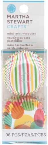 Martha Stewart Crafts Modern Festive Mini Cupcake Wrappers