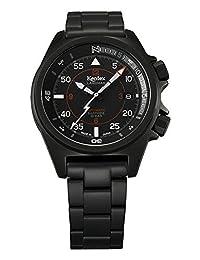 Kentex LANDMAN Men's Automatic Black Dial Watch S678X-04