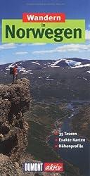 Wandern in Norwegen: 35 Wanderungen mit Karten und Höhenprofilen