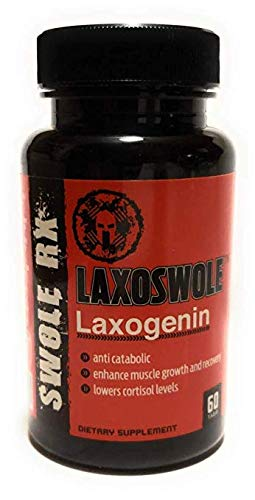(*Best Price LAXOGENIN* LAXOSWOLE (60MG 60CT) by SWOLE RX)
