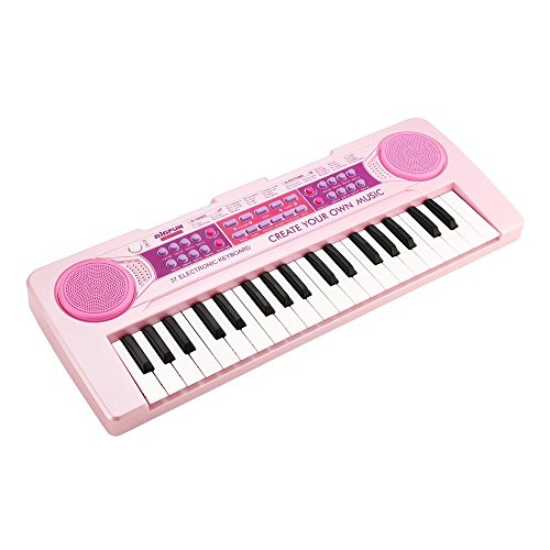 Piano for Kids,BETECHO 37 Keys Multi-function Charging Electronic Kids Piano Keyboard Educational Toy Organ