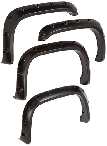 - Bushwacker 50908-02 Dodge Pocket Style Fender Flare - Set of 4