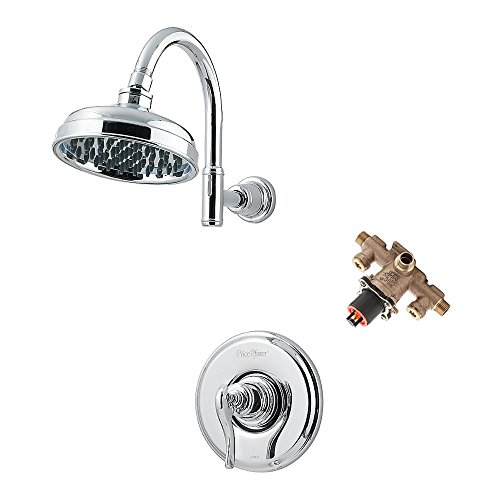 (Pfister KG897YP-WSR-PC Ashfield Shower Trim with Rough & Stops, Chrome)