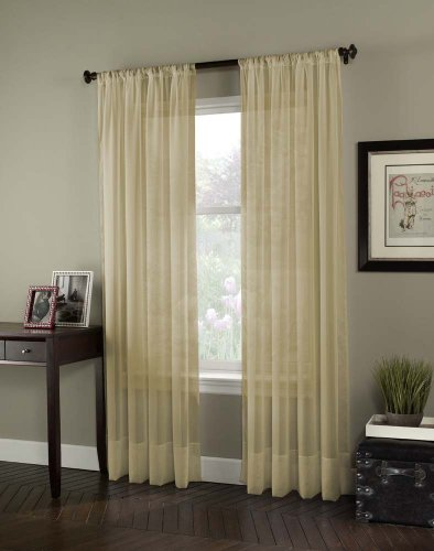 Curtainworks Soho Voile Curtain Panel, 144