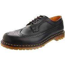 Dr. Martens Men's Saxon 3989 5-Eye Brogue Lace Up Casual Shoe