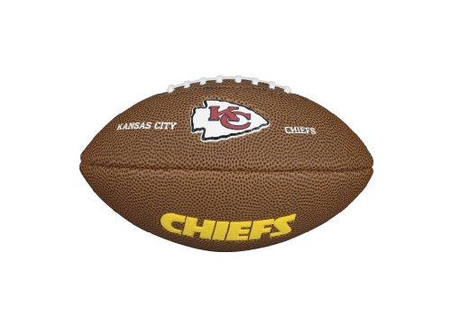 Wilson WTF1533IDKC NFL Team Logo Mini Size Football - Kansas City Chiefs