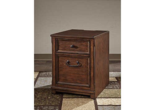 Ashley H478-12 Woodboro File Cabinet – Brown!