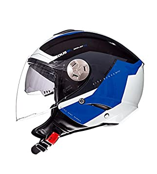 MT Casco Semi-Jet City Eleven SV Spark Azul (S)