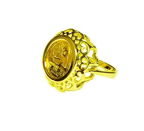 Panda Coin Ring - 8