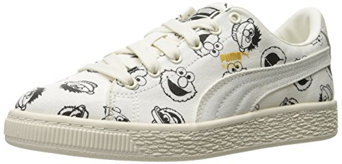 PUMA Sesame Sneaker Star Kid M US Basket 5 Kids' Star Big White PS x Street White 3 pf1pHrq