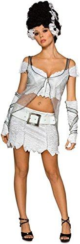 Secret Wishes Women's Universal Studios Monsters Adult Bride Of Frankenstein Costume, Multicolor, Small