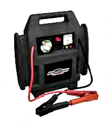 Speedway 7226 4 In 1 Powerstation-Inflator, Jumpstarter, 12-Volt Outlet Light by North American Tool Domestic