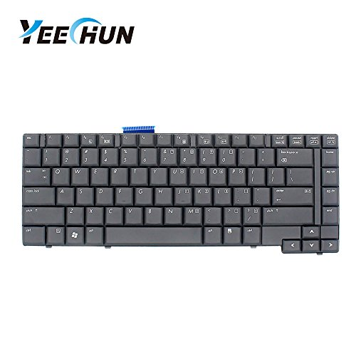YEECHUN New Black US Layout Laptop Replacement Keyboard for HP COMPAQ 6730B 6735B Series Part Number NSK-H4F01 6037B0026101 487136-001