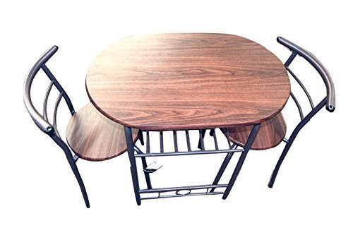 Handi-Craft 3 Piece Compact Dining Set w/Table and Matching Chairs
