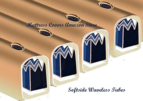 Waveless Tube Cylinder for King & Queen Softside Waterbed Mattress by United States Waterbed