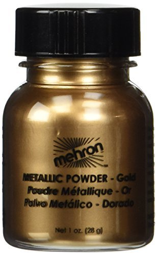 Mehron Makeup Metallic Powder (1 oz) (Gold)