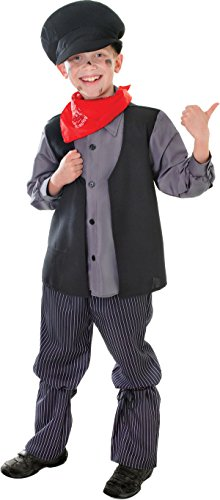 Grey Boys Chimney Sweep Costume