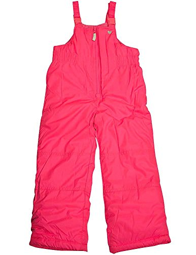 Carter's - Little Girls Bib Snowpant, Pink - Super Snowsuit