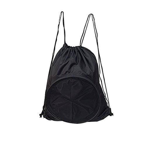 Travelwell Sport Ball Drawstring Backpack, Black by Travelwell