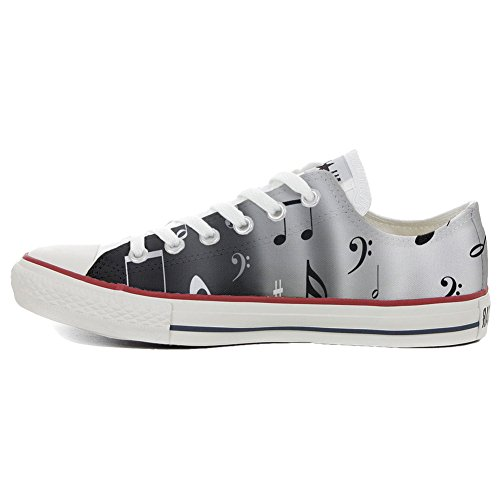 Converse All Star zapatos personalizados (Producto Handmade) Musical Notes