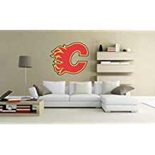 CALGARY FLAMES NHL Wall Decal Vinyl Sticker for room home bedroom car