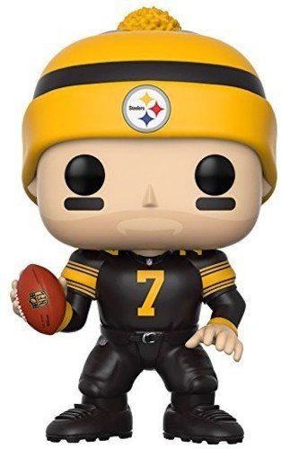Funko Pop Nfl  Ben Roethlisberger  Steelers Color Rush  Collectible Figure
