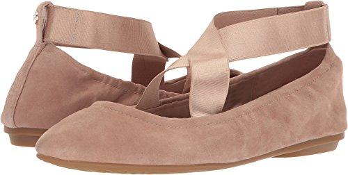 Taryn Flat Women's Ballet Rose Beige Soft Edina Suede Silky wZpHUqZ