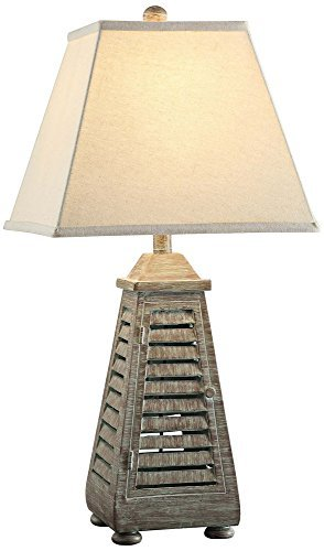 Crestview Collection Shutter Tower Table Lamp, - Collection Shutter
