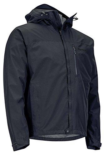 Marmot Minimalist Men's Lightweight Waterproof Rain Jacket, GORE-TEX with PACLITE Technology, Medium, Jet Black