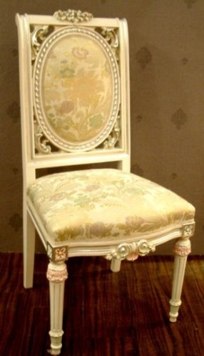LouisXV silla de estilo antiguo barroco rococó Vp9907 ...