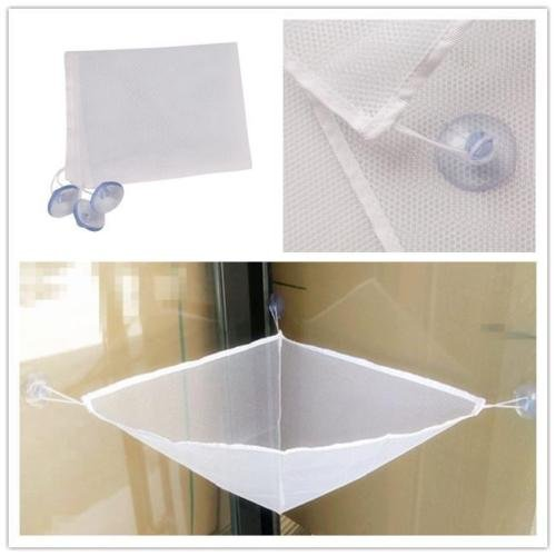 panpob68 white bathroom bath tub toy hanging mesh storage bag organizer for baby kid for sale. Black Bedroom Furniture Sets. Home Design Ideas