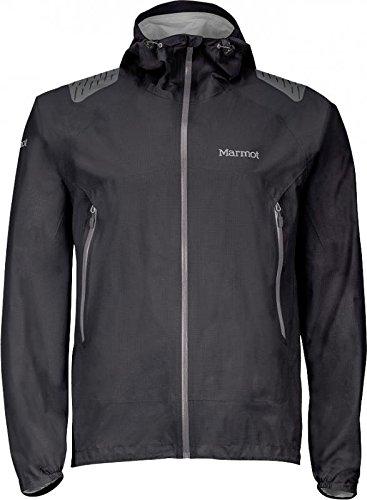 Marmot Crux Jacket - Waterproof (For Men), Black, Large