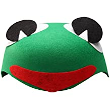 TINKSKY Non-Woven Cute Funny Fashion Children Kids Cartoon Animal Hat (Frog)