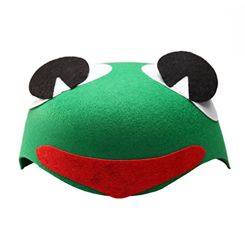 te Funny Fashion Children Kids Cartoon Animal Hat (Frog) ()