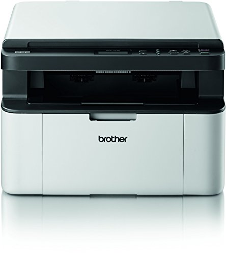 Brother DCP-1510 Kompaktes 3-in-1 Laser-Multifunktionsgerät (Scanner, Kopierer, Drucker) schwarz/weiß