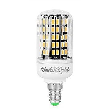 1pc 7W 560 lm E14 Bombillas LED de Mazorca 108 leds SMD 5733 Decorativa Blanco Cálido