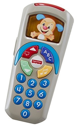 41Y4ZDxTbBL - Fisher-Price Laugh & Learn Puppy's Remote