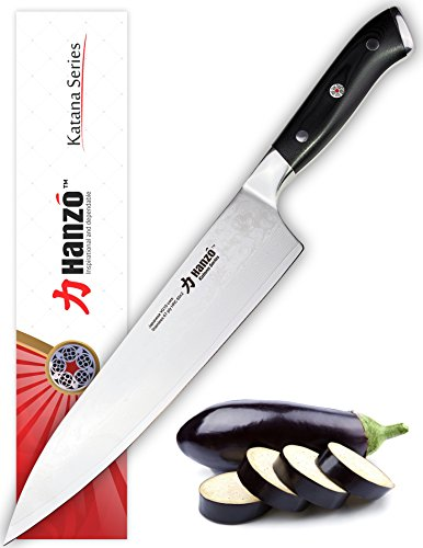 save 67 hanzo chef 39 s knife 9 5 inch best edge retention w ultraedge high carbon japanese. Black Bedroom Furniture Sets. Home Design Ideas