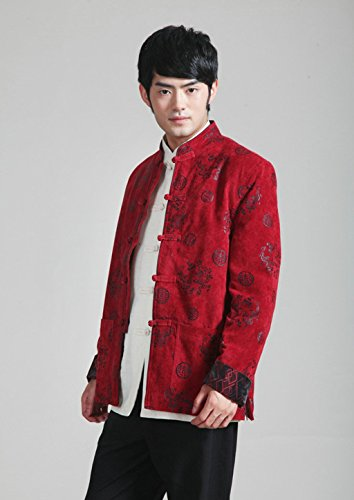Wool Tang Suits Retro Jackets cotton-padded jacket Business Jackets Full Dress by Winter Tang Suit (Image #1)