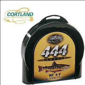 Cortland Line WF5F/S Sink Tip Fishing Line, Brown/Peach
