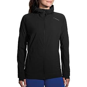 Women's Brooks Canopy Jacket, Black, LG (Women's 12-14)'
