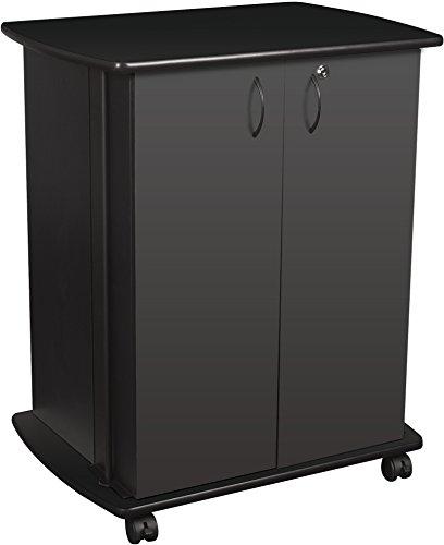 Balt Refreshment/Utility Cart / 3D Printer Cart, Black, 35.5