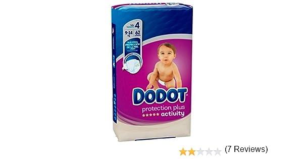394455210 Pañales Dodot Activity T4, 62 unidades, 8-14K: Amazon.es: Salud y cuidado  personal