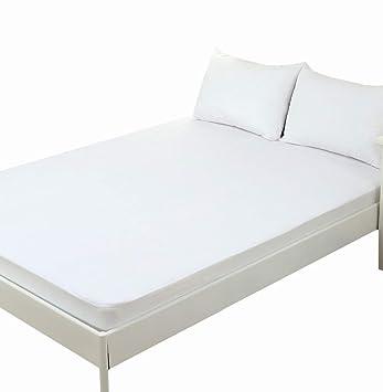 Funda de colchón, 100% algodón, impermeable y transpirable, 90*190/200cm, cama 90: Amazon.es: Electrónica