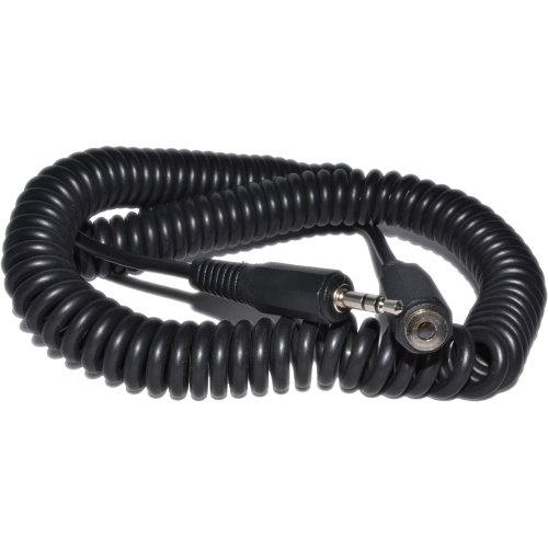 Kenable COILED 3.5mm Stereo Jack to Socket Headphone Extension Cable Lead 4m (~13 feet)