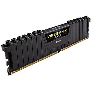 Corsair CMK16GX4M2Z2400C16 Vengeance LPX 16GB (2x8GB) DDR4 2400 (PC4-19200) C16 1.2V Internal Memory for AMD Ryzen and…