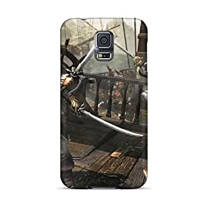 Hot Fashion LfZ3220PkBf Design Cases Covers For Galaxy S5 Protective Cases (assassins Creed Iv: Black Flag)